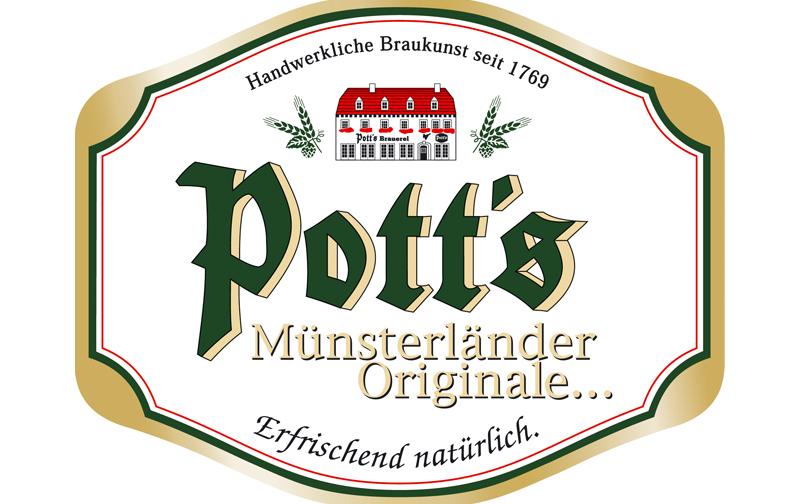News Pott's Brauerei Logo