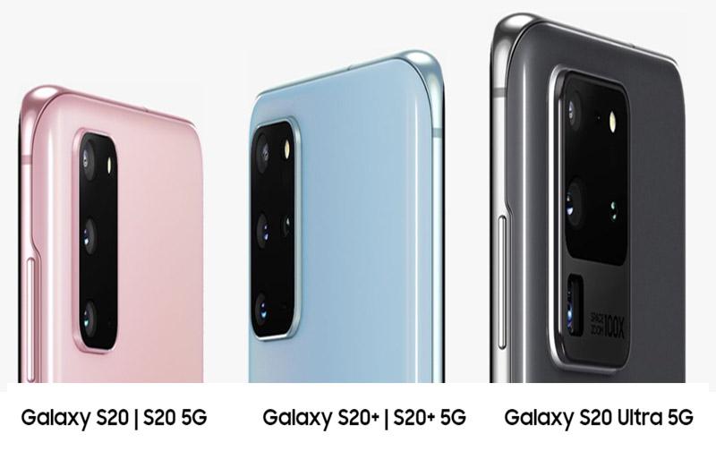 Samsung s20 Modelle